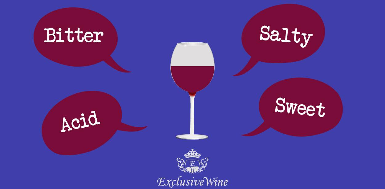 Taste of the wine